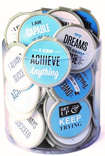 MOTIVATIONAL Bookmarks -75 Pack - Bulk Bookmarks for Kids girls boys. Perfect for School Student Incentives - Reading Incentives - Party Favor Prizes - Classroom Reading Awards