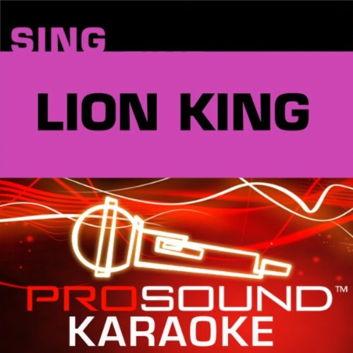 Sing The Lion King (Accompaniment CD) (Accompaniment King Cd)