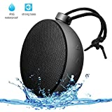 AlierGo Wireless Speaker, Portable Speaker, SoundAce Mini Outdoor Speaker IPX5 Waterproof Speaker/Splash Proof Shower Speaker 5W Enhanced Bass Outdoor Party Speaker 10-Hour Playtime Rechargeable