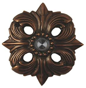 Solid Brass Avalon Doorbell - Oil Rubbed Bronze