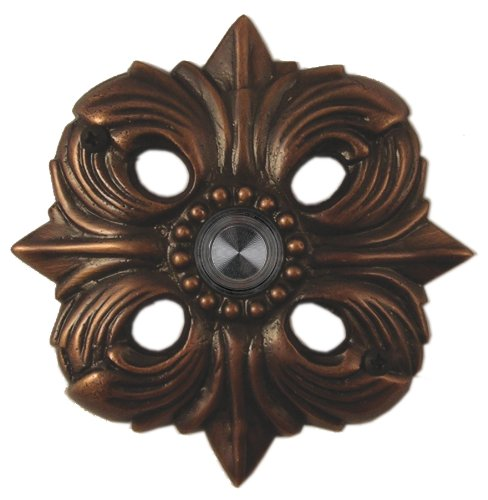 Waterwood Solid Brass Avalon Doorbell - Oil Rubbed Bronze