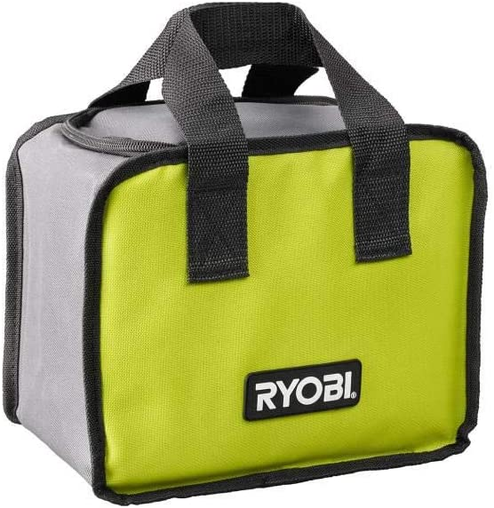 Charger 2 Drill//Driver Kit with Ryobi P215K1 18-Volt ONE+ Lithium-Ion Cordless 1//2 in and Bag 1.5 Ah Batteries
