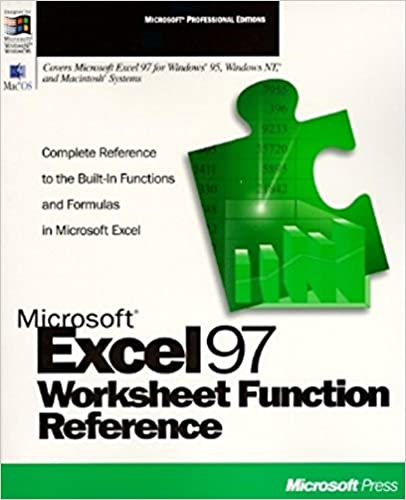 Microsoft Excel Worksheet Function Reference (Microsoft ...