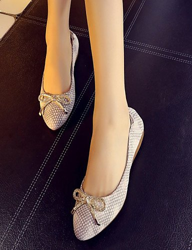 PDX/ Damenschuhe - Ballerinas - Kleid / Lässig / Party & Festivität - Leder - Flacher Absatz - Ballerina / Komfort - Beige beige