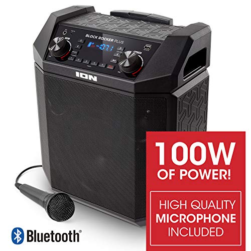 ION Audio Block Rocker Plus | 100W Portable Speaker