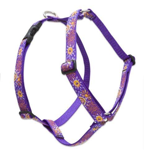 "LupinePet Originals 1"" Sunny Days 20-32"" Adjustable Roman Dog Harness for Medium Dogs"