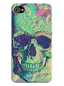 Diy iphone 5 5s case Beautiful Skull iphone 4/5 5S Hard Back Shell Case Cover use Skin for iphone 4/5 5S Cases is - Beautiful Skull Background image #4 to diet
