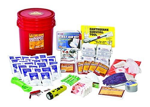 More Prepared 4 Person Premium Home Survival Kit