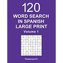 Word Search in Spanish Large Print - Volume 1