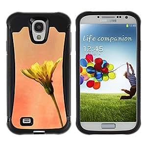Pulsar Defender Series Tpu silicona Carcasa Funda Case para SAMSUNG Galaxy S4 IV / i9500 / i9515 / i9505G / SGH-i337 , Plant Nature Forrest Flower 11