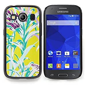 Stuss Case / Funda Carcasa protectora - Flores amarillas del trullo naturaleza Verano - Samsung Galaxy Ace Style LTE/ G357