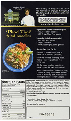Amazon blue elephant royal thai cuisine pad thai cooking set amazon blue elephant royal thai cuisine pad thai cooking set 105 ounce pack of 12 packaged noodle dinner kits grocery gourmet food forumfinder Image collections