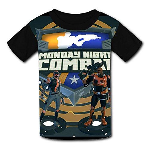 Plus Size Combat Girl Costumes (SeRose Cool Monday Night Battle Kid T-Shirt Custom Tee Child Costume Tops L)