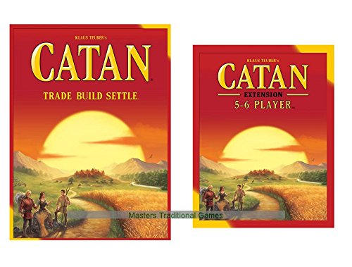 Catan 5th Edition with 5-6 Player Extension