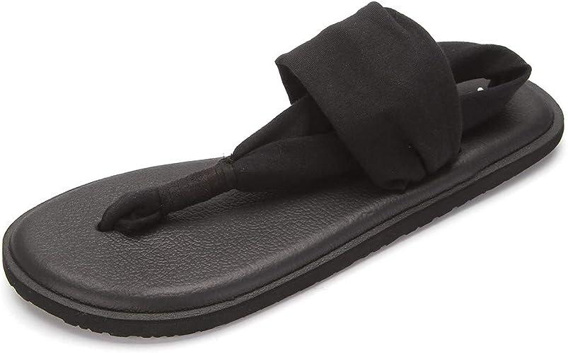 ONEHOO Womens Yoga Sling Flip Flop Sandals