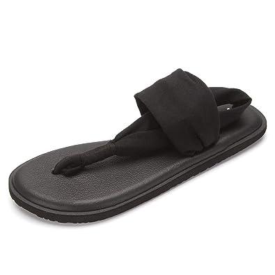 238cc06b3 ONEHOO Women s Yoga Sling Flip Flop Sandals (XS  4-5 US