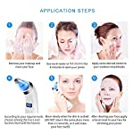 AIKOTOO Blackhead Remover Pore Vacuum Cleanser, Electric Blackhead Vacuum Suction Remover—Blackhead Extractor Tool Set with 4 Replaceable Suction Heads, Facial Pore Cleanser