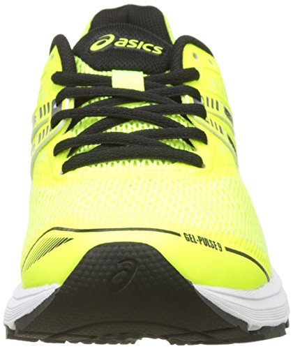 Running Jaune 9 Chaussures black Homme Gel carbon De pulse safety Yellow Asics aXwOc