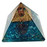 Elite Orgone Pyramid Energy Generator with Emf Protection for Chakra Healing/Meditation Yoga Development- Balancing Positive Energy! A Solution for Physical, Emotional-Negativity Removal Stone