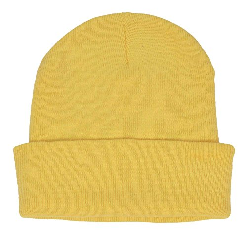 DALIX (Yellow Beanie Hat)
