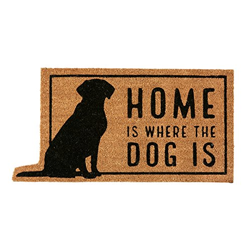 Mud Pie Home Is Where the Dog Is Door Mat