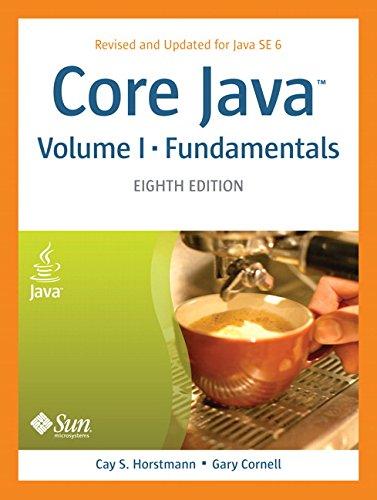 Core Java™, Volume I--Fundamentals (Core Series)