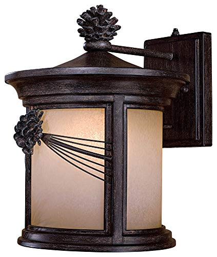 (Minka Lavery 9153-357-PL 1 Light Outdoor Wall Lantern)