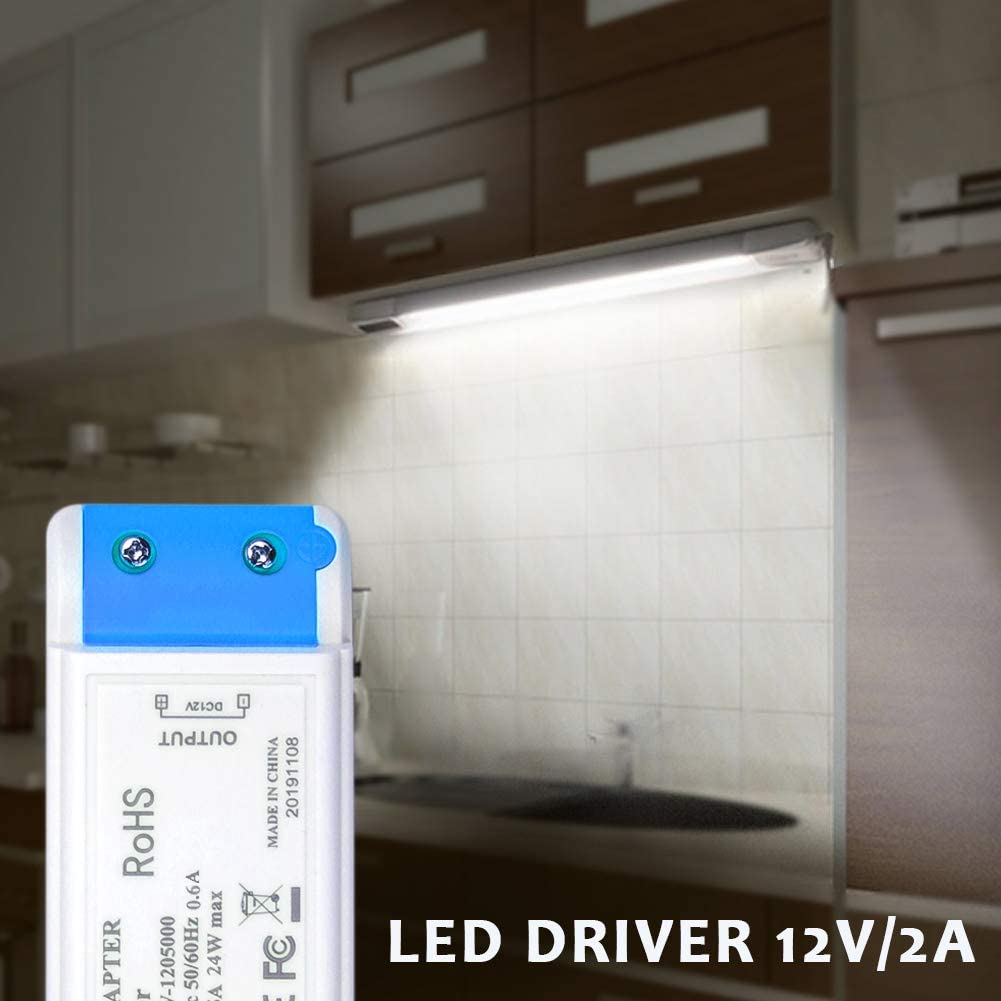 LED Power Supply 12V 24W LED Transformer,MEKEET Driver Transformer 12V DC 2A LED Driver Adapter Constant Voltage for LED Display,LED Strip Light and G4 MR16 MR11,LED Light Bulbs,Cabinet Lights