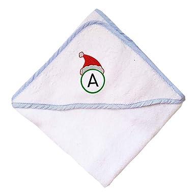 Amazoncom Custom Embroidery Monogram Christmas Santa Red Hat Round