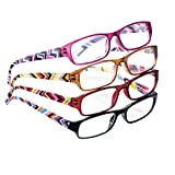 Fashion Reader Glasses - Set Of 4, Multicolored, 2.00X