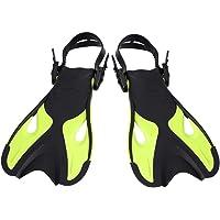 LIOOBO 1 par de Aletas de Snorkel Aletas de natación Profesionales Aletas de Entrenamiento Aletas de Buceo para Adultos (Rosa 42-45)