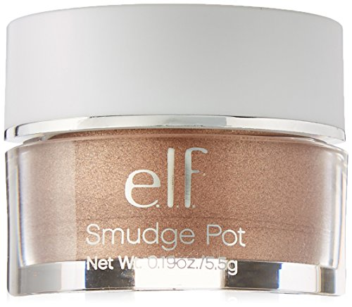 e.l.f. Cosmetics Smudge Pot Cream Eyeshadow, Long-Lasting Eyeshadow or Eyeliner Gel, Crusin' Chic