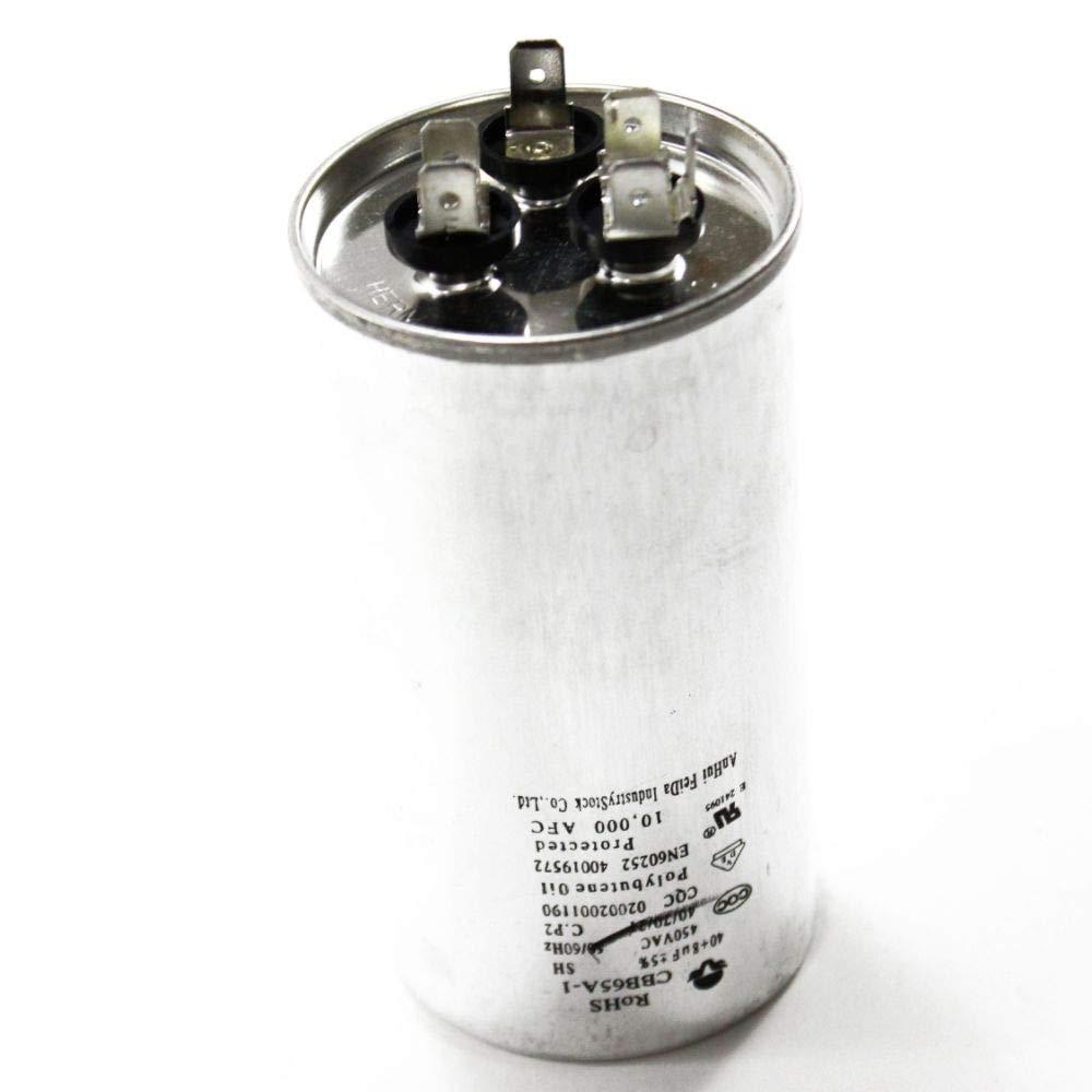 5304455484 Room Air Conditioner Dual-Motor Run Capacitor Genuine Original Equipment Manufacturer (OEM) Part by FRIGIDAIRE