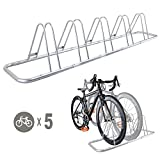 Search : 5 Bike Bicycle Floor Parking Rack Storage Stand by CyclingDeal