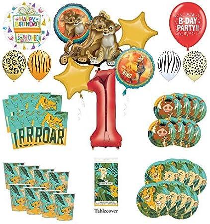 Amazon.com: Lion King - Kit de decoración para fiesta de ...