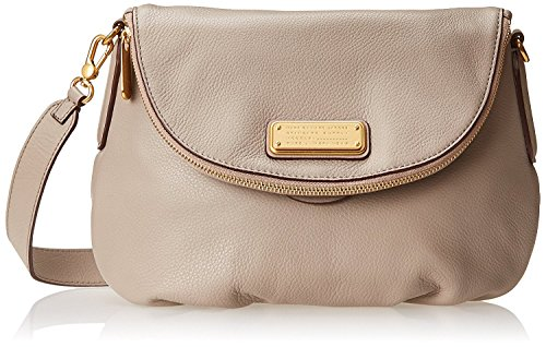 Marc by Marc Jacobs New Q Natasha Cross Body Bag, Cement, One Size by Marc by Marc Jacobs