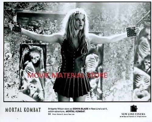 Sonya Blade Mortal Kombat Original 8x10