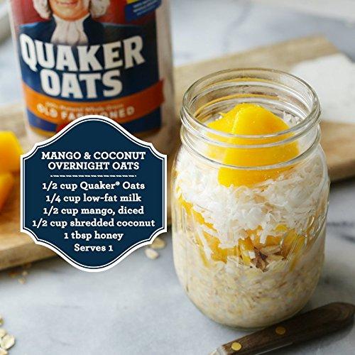 030000010204 - Quaker Oats Old Fashioned Oatmeal, 18 oz Canister carousel main 5