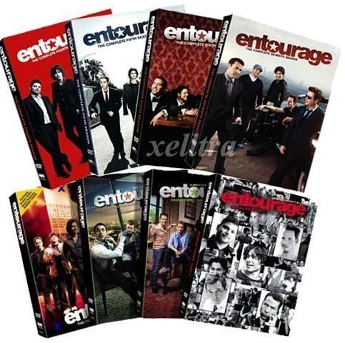 Entourage the Entire Series Season 1-7 Only (Without Season - 7 Entourage Of