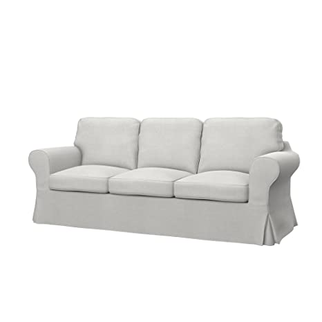 Ikea Divani 3 Posti.Soferia Ikea Ektorp Fodera Per Divano Letto A 3 Posti Glam Beige