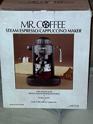 Mr.coffee Ecm8 Steam Espresso / Cappuccino Maker