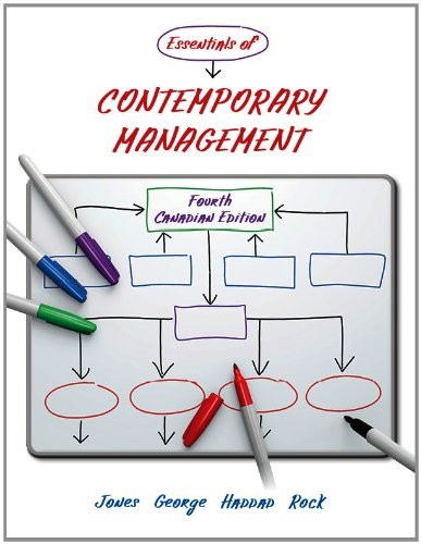 Essentials Of Contemporary Management 4th Edition Pdf