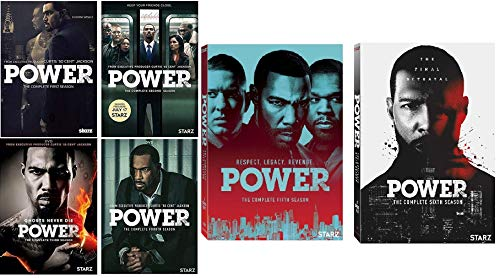 Power Complete Series DVD Season 1-6