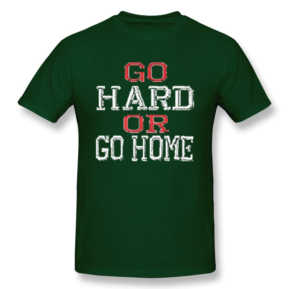 Perfectmeet S Go Hard Or Go Home Funny Workout Gym Tshirt