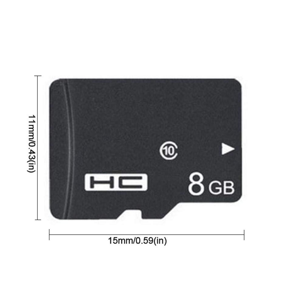 KOBWA 8GB 8G Micro SDHC Clase 4 TF Tarjeta de Memoria con Lector de Tarjetas Micro SD