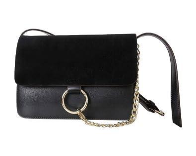 Schwarze, kleine Designer Damen Handtasche by Sassyclassy
