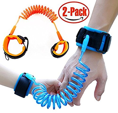 SEMSO Anti Lost Wrist Link Child Safety Harness Leashes Strap Rope for Baby Toddlers Kids Hand Belt 2 - Shops Park Mall Square