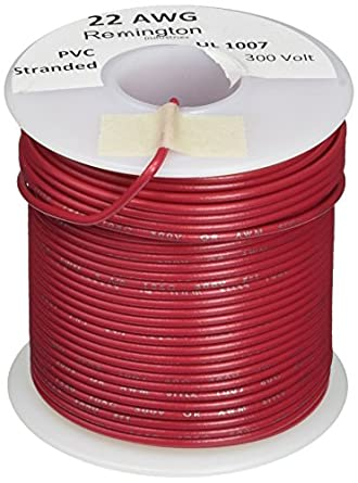 Remington industries 22ul1007strred ul1007 22 awg gauge stranded remington industries 22ul1007strred ul1007 22 awg gauge stranded hook up wire 300v 00253quot greentooth Image collections