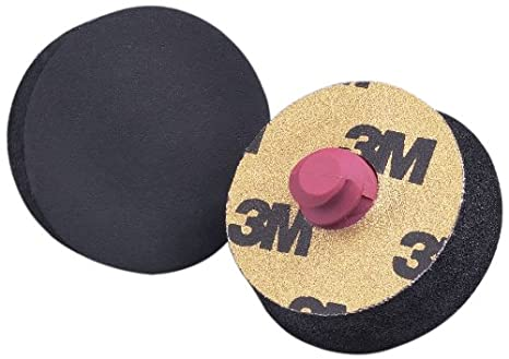 Pack of 10 Pack of 10 PSA Attachment 1-1//4 Diameter X 0.31 Thick 1-1//4 Diameter X 0.31 Thick 3M Finesse-it Roloc Sanding Pad 13442 051144134427