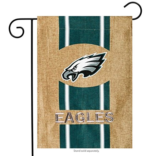 NFL Philadelphia Eagles Burlap Garden Flag, 12.5